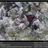 Anatase<br />Col de la Madeleine, La Lauzière Massif, Saint-Jean-de-Maurienne, Savoie, Auvergne-Rhône-Alpes, France<br />fov 6 mm<br /> (Author: ploum)