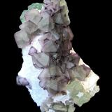 Fluorite<br />De'an Mine, Wushan, De'an, Jiujiang Prefecture, Jiangxi Province, China<br />Specimen size 9,5 cm<br /> (Author: Tobi)