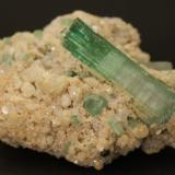 Elbaite<br />Nuristan Province, Afghanistan<br />70mm x 50mm x 40mm<br /> (Author: Philippe Durand)