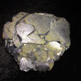 Galena, Chalcopyrite<br />Gyudyurska Mine, Zlatograd, Smolyan Oblast, Bulgaria<br />85 mm X 70 mm X 50 mm<br /> (Author: Robert Seitz)
