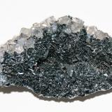 Hematite and Quartz<br />Florence Mine, Egremont, West Cumberland Iron Field, former Cumberland, Cumbria, England, United Kingdom<br />75mm x 50mm x 30mm<br /> (Author: Philippe Durand)