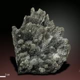 Berthierite<br />Herja Mine, Chiuzbaia, Baia Sprie, Maramures, Romania<br />87 x 73 mm<br /> (Author: Manuel Mesa)