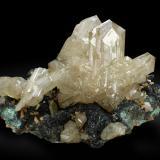 Cerusite<br />Touissit, Touissit District, Jerada Province, Oriental Region, Morocco<br />5,8 cm.<br /> (Author: Enrique Llorens)