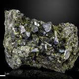 Epidote<br />Aguablanca Mine, Monesterio, Comarca Tentudía, Badajoz, Extremadura, Spain<br />104 X 78 mm<br /> (Author: Manuel Mesa)