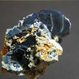 Azurite<br />Tsumeb Mine, Tsumeb, Otjikoto Region, Namibia<br />26mm x 38mm<br /> (Author: Heimo Hellwig)