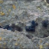 Roedderita<br />Volcán de Cancarix, Sierra de las Cabras, Cancarix, Hellín, Comarca Campos de Hellín, Albacete, Castilla-La Mancha, España<br />Campo de visión de 8 mm.<br /> (Autor: Antonio Carmona)