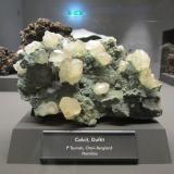 Calcite, Duftite<br />Tsumeb Mine, Tsumeb, Otjikoto Region, Namibia<br /><br /> (Author: Tobi)