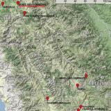 _Hübnerita, cuarzo  Posición geográfica de Mundo Nuevo, en la zona norte del Perú. Mapa completo en http://carlesmillan.cat/min/CPeru.png (Autor: Carles Millan)