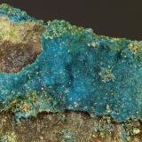 Calcantita<br />Mines del Remei, La Castanya (Massís del Montseny), El Brull, Comarca Osona, Barcelona, Catalunya, España<br />C.V. 5 x 4 cm<br /> (Autor: Javier Rodriguez)
