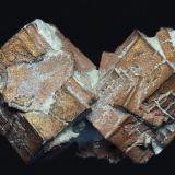 Cobre pseudo Aragonito<br />Corocoro, Provincia Pacajes, Departamento La Paz, Bolivia<br />25x50mm<br /> (Autor: Ramon A  Lopez Garcia)