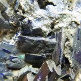Azurite<br />Tsumeb Mine, Tsumeb, Otjikoto Region, Namibia<br />90mm x 100mm x 140mm<br /> (Author: Heimo Hellwig)