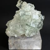 Fluorite<br />Dongshan Mine, Xianghualing Sn-polymetallic ore field, Linwu, Chenzhou Prefecture, Hunan Province, China<br />70mm x 70mm x 30mm<br /> (Author: Philippe Durand)