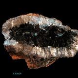 Hematites (variedad especularita)<br />Mina La Incomparable, Villafranca de Córdoba, Comarca Alto Guadalquivir, Córdoba, Andalucía, España<br />4x4 cm<br /> (Autor: Ricardo Fimia)