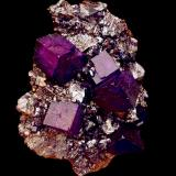 Fluorite, Sphalerite<br />Elmwood Mine, Carthage, Central Tennessee Ba-F-Pb-Zn District, Smith County, Tennessee, USA<br />14 cm<br /> (Author: Nunzio)