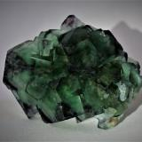 Fluorite<br />Okorusu Mine, Otjiwarongo District, Otjozondjupa Region, Namibia<br />75mm x 60mm x 25mm<br /> (Author: Philippe Durand)