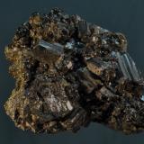 Bournonita<br />Unidad minera Pachapaqui, Pachapaqui, Distrito Aquia, Provincia Bolognesi, Departamento Ancash, Perú<br />5 x 4 cm<br /> (Autor: Ricardo Fimia)
