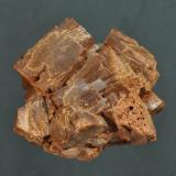 Vanadinita (variedad endlichita)<br />Mibladen (Distrito minero Mibladen), Midelt, Provincia Midelt, Region Meknès-Tafilalet, Marruecos<br />3 x 3 cm<br /> (Autor: Ricardo Fimia)