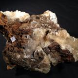 Calcite<br />Bisbee, Warren District, Mule Mountains, Cochise County, Arizona, USA<br />145 mm x 90 mm x 65 mm<br /> (Author: Robert Seitz)