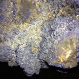 Azurite<br />Czar Mine, Copper Queen Mine, Queen Hill, Bisbee, Warren District, Mule Mountains, Cochise County, Arizona, USA<br />160 mm x 150 mm x 120 mm<br /> (Author: Robert Seitz)