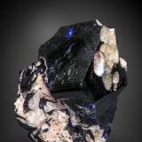 Azurite<br />Tsumeb Mine, Tsumeb, Otjikoto Region, Namibia<br />62 X 50 mm<br /> (Author: Manuel Mesa)