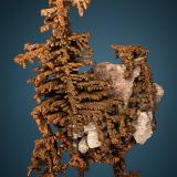 Copper<br />New Cornelia Mine, Ajo, Little Ajo Mountains, Ajo District, Pima County, Arizona, USA<br />5.5cm x 4.0cm<br /> (Author: rweaver)