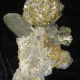 Chalcopyrite, Pyrite, Galena, Calcite, Dolomite<br />Sweetwater Mine, Ellington, Viburnum Trend District, Reynolds County, Missouri, USA<br />137 mm x 115 mm x 60 mm<br /> (Author: Robert Seitz)