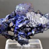 Azurite<br />Milpillas Mine, Cuitaca, Municipio Santa Cruz, Sonora, Mexico<br />60mm x 45mm x 30mm<br /> (Author: Philippe Durand)
