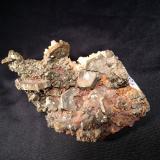 Marcasite<br />Naica Mine, Naica, Municipio Saucillo, Chihuahua, Mexico<br />70 mm x 50 mm x 50 mm<br /> (Author: Robert Seitz)