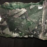Fluorite<br />De'an Mine, Wushan, De'an, Jiujiang Prefecture, Jiangxi Province, China<br />285 mm x 120 mm x 90 mm<br /> (Author: Robert Seitz)