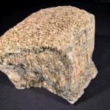 Anthophyllite<br />Day Book Chromite Prospect, Burnsville, Condado Yancey, North Carolina, USA<br />113 mm x 110 mm x 98 mm<br /> (Author: Robert Seitz)