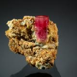 Beryl<br />Ruby Violet Claims, Wah Wah Mountains, Beaver County, Utah, USA<br />2.0 x 2.2 cm<br /> (Author: crosstimber)