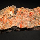 WulfeniteMina Red Cloud, Montes Trigo, Distrito Silver, Condado La Paz  , Arizona, USA263 mm x 80 mm x 57 mm (Author: Robert Seitz)