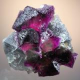 Fluorite<br />Cookes Peak District, Luna County, New Mexico, USA<br />6.4 x 6.1 cm<br /> (Author: Philip Simmons)