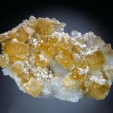 Fluorite, Quartz, Barite, Dolomite<br />Freiberg District, Erzgebirge, Saxony/Sachsen, Germany<br />11x7x3 cm overall size<br /> (Author: Jesse Fisher)