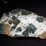 Atacamite, Halloysite<br />Copiapó Province, Atacama Region, Chile<br />270 mm x 140 mm x 55 mm<br /> (Author: Robert Seitz)