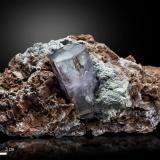 Aragonite<br />Keuper outcrop, Rambla de la Tenazga, Camporrobles, Comarca Requena-Utiel, València / Valencia, Valencian Community, Spain<br />105 X 55 mm<br /> (Author: Manuel Mesa)