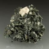 Marcasite, Dolomite<br />Reocín Mine, Reocín, Comarca Saja-Nansa, Cantabria, Spain<br />60x58x25mm<br /> (Author: Fiebre Verde)
