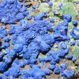 Azurite and Malachite<br />Tschudi Mine, Otavi, Otjozondjupa Region, Namibia<br />210mm x 165mm x 55mm<br /> (Author: Heimo Hellwig)