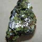 Azurite<br />Tsumeb Mine, Tsumeb, Otjikoto Region, Namibia<br />22mm x 32mm x 12mm<br /> (Author: Heimo Hellwig)