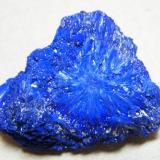Azurite<br />Tsumeb Mine, Tsumeb, Otjikoto Region, Namibia<br />41mm x 32mm x 14mm<br /> (Author: Heimo Hellwig)