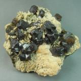 Sphalerite<br />Iron Cap Mine, Landsman Camp, Aravaipa, Aravaipa District, Santa Teresa Mountains, Graham County, Arizona, USA<br />7.5cm x 7.0<br /> (Author: rweaver)