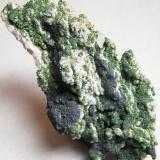 Arsentsumebite and Mottramite<br />Tsumeb Mine, Tsumeb, Otjikoto Region, Namibia<br />72mm x 106mm x 56mm<br /> (Author: Heimo Hellwig)