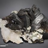 Babingtonite<br />Babingtonite occurrences, Qiaojia, Zhaotong Prefecture, Yunnan Province, China<br />96 x 74 mm<br /> (Author: Manuel Mesa)