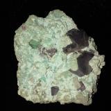 Cuprite<br />Kolwezi District, Katanga Copper Crescent, Katanga (Shaba), Congo DR (Zaire)<br />75 mm x 60 mm x 28 mm<br /> (Author: Robert Seitz)