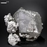 Calcite<br />Moscona Mine, El Llano, Solís, Corvera de Asturias, Comarca Avilés, Asturias, Principality of Asturias, Spain<br />72 x 39 mm<br /> (Author: Manuel Mesa)