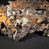 Cerussite<br />Flux Mine, Flux Gulch, Alum Gulch, Patagonia Mountains, Harshaw District, Santa Cruz County, Arizona, USA<br />240 mm x 120 mm x 93 mm<br /> (Author: Robert Seitz)