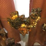 Cuprite, Copper<br />Rubtsovskoe, Rudnyi Altai, Altaiskii Kray, Western-Siberian Region, Russia<br />120 mm x 78 mm x 70 mm<br /> (Author: Robert Seitz)
