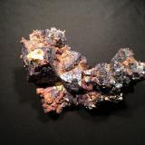 Cuprite, Copper<br />Rubtsovskoe Mine, Rubtsovsky District, Altai Krai, Russia<br />120 mm x 78 mm x 70 mm<br /> (Author: Robert Seitz)
