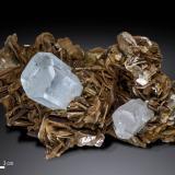 Beryl (variety aquamarine)<br />Nagar, Hunza Valley, Nagar District, Gilgit-Baltistan (Northern Areas), Pakistan<br />145 x 103 mm<br /> (Author: Manuel Mesa)