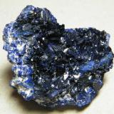 Azurite<br />Tsumeb Mine, Tsumeb, Otjikoto Region, Namibia<br />46mm x 39mm x 23mm<br /> (Author: Heimo Hellwig)